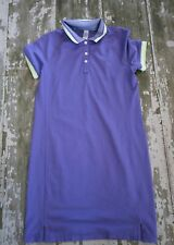 NWOT Ivivva WE RUN the GREEN Purple Short Sleeve Golf Tennis Athletic Dress 14