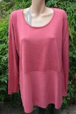 SUSSAN Pomegranate TOP SIZE XXL Stylish Bias Cut NEW RRP$89.95 Wool Blend L/Sve