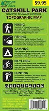 Catskill Park Trail , Fishing , Hunting , Cycling Map , Venture Out Maps