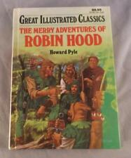 The Merry Adventures Of Robin Hood By Howard Pyle 1990 Great Illustrated Classic