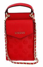 GUESS Holdall Phone Case Umhängetasche Accessoire Red Rot