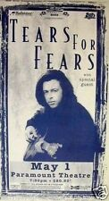 Tears For Fears 1995 Denver Concert Tour Poster - Roland Playing Guitar