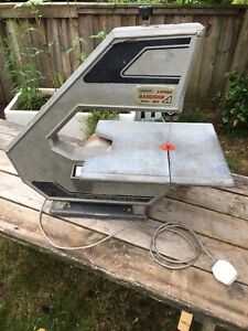 Vintage Burgess Bk2 Bench Top Band Saw - Fully Working - Herefordshire