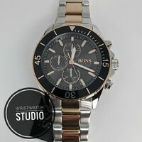 BRAND NEW HUGO BOSS OCEAN EDITION  STAINLESS STEEL MENS WATCH HB1513705
