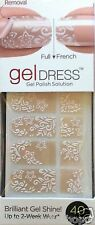 Kiss Nail Gel Dress Gel Polish Solution Gel Strips # 60640 French Toast Gardenia