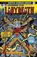 "Lady Death Secrets #1 ""Cyber Death""  PGX 10.0 GRADED & SLABBED  Ltd. 90 Comic"