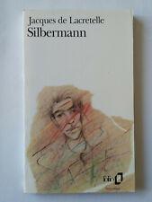 SILBERMANN 1995 JACQUES DE LACRETELLE FOLIO