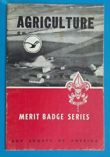 1949 Boy Scouts of America Merit Badge Series AGRICULTURE Vintage Book