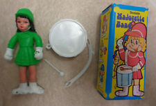VINTAGE 1970 S HONG KONG curvabile MAJORETTE bambola di banda con grancassa in Scatola