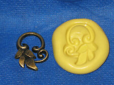 Leaf Charm Silicone Mold #5 For Jewelry Resin Clay Candy Fondant
