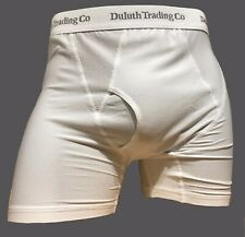 Duluth Trading Co Men/'s Buck Naked Performance Boxer Briefs  2Pairs Medium