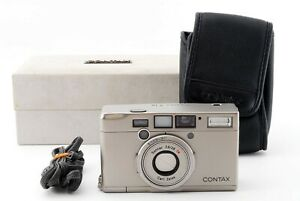 *Read* Contax TIX APS Point & Shoot Film Camera Silver w/Box Made In Japan #5336