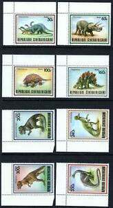 Central African Republic 872-9 mint VF NH complete; cat value $15.35