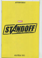 Avengers Alpha 001  NM Standoff Assault On Pleasant Hill Marvel Comics**28