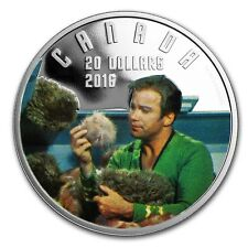 1 oz 99,99% Pure Silver Coloured Coin The Trouble with Tribbles Iconic Star Trek