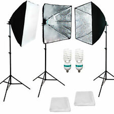 3PCS Photo Studio Softbox Studio Video Photo Light Photography Lighting Kit