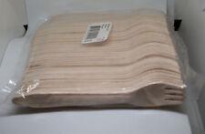 200 Holzgabeln, 165 mm SQTS nature ( Besteck Gabel Einweg Geschirr ) Neu