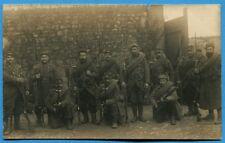 CPA PHOTO: Soldats du 137° Régiment d'Infanterie Territoriale / Guerre 14-18