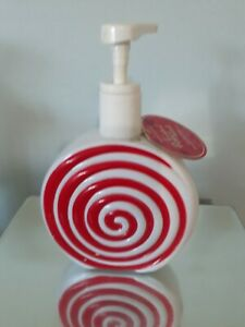 Bath & Body Works Twisted Peppermint Soap Container RARE!!!!!!!!!used 2012? NEW