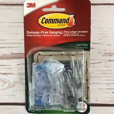 3M Command Outdoor Light Clips with Foam Strips (17017CLR-AW)