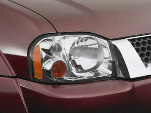 New Genuine Nissan Navara D22 Headlamp Headlight Covers Protectors Oct 2001