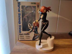 KOTOBUKIYA BISHOUJO BLACK WIDOW MARVEL STATUE FIGURINE - 1st Edition! RARE