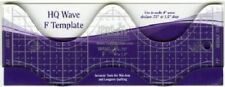 Handi Quilter Wave F Ruler ~ 8 inch Wave for Mid-Arm & Longarm Quilting Machine