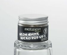 (49,75€/100g) Pelzer Neon White Pop Up Boilies Cream 10mm 20g