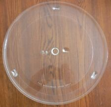 """13 3/4"""" MICROWAVE GLASS TURNTABLE PLATE/TRAY REPLACEMENT USED!"""