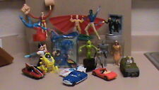 Lot of 18 Kids Meal Toys:TICK, AIRBENDER, AVATAR, ASTRO BOY, GI JOE, SPEED RACER