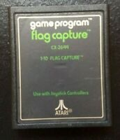 Atari 2600 Game - Flag Capture (CX-2644) [Green Text Label]