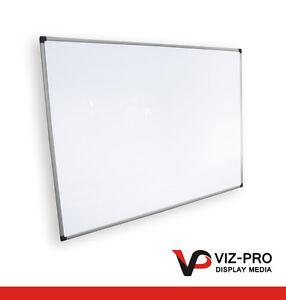 Viz Pro Magnetic Drywipe Whiteboard. 600x450 900x600 1200x900mm 1500x1200mm