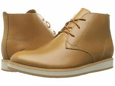 Lacoste Men's Millard Chukka 316 1 US 11 M Light Brown Leather Boots Shoes $195