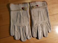 New listing Vtg Wells Lamont Gloves Mule Logo Trucker Leather Work Freddy Krueger sz xl