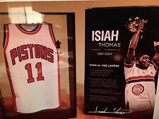 Isiah Thomas Mini Jersey in case - Detroit Pistons Best of 7 (New in the Box)