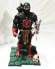 NINJOR w/STAND • C9 • 100% COMPLETE • MASTERS OF THE UNIVERSE CLASSICS