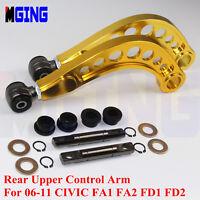 REAR UPPER CONTROL ARM CAMBER KIT FOR 06-11 HONDA CIVIC FA1 FA2 FD1 FD2 R18 SI