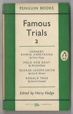 FAMOUS TRIALS 2~ed Harry Hodge~Vintage Penguin # 634~1954 PB Printing~VG
