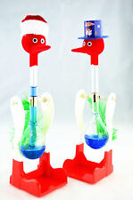 Cute decoration Hat New Style And Santa Claus Drinking Birds -auction