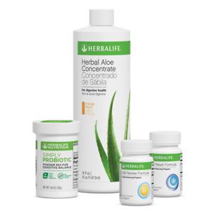 Herbalife AM-PM Renew&Reset Formulas+Simply Probiotic+Herbal Aloe