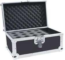 Mikrofon Case Road für 12 Mikrofone schwarz, Mikro Koffer Box Kiste ROADINGER