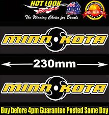 MINN KOTA X2 Stickers Decals Suit Electric Motor Riptide I-PILOT  Fishing Boat