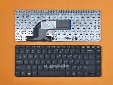 for HP PROBOOK 640 G1 645 G1 Keyboard US Black 738687-001, No Point, No Frame