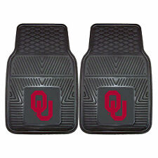 Oklahoma OU Sooners Front Heavy Duty Floor Mats for Cars Trucks and SUV's