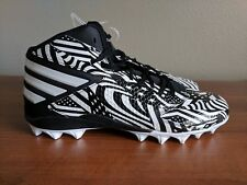 pretty nice 9031f f001b Adidas Freak MD Mid Football Cleats Stars Stripes Black Size 10.5 Q16091