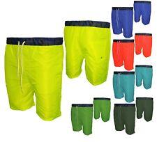 Costume Da Bagno Uomo Shorts Mare Boxer Bermuda Piscina Con Elastico G6-8 MNT