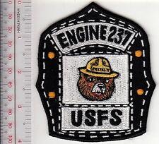 Smokey the Bear New Mexico USFS Fire Engine 237 Smokey the Bear Crew Helmet Shie