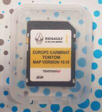 RENAULT Carminat TOMTOM Europe 10.15 UK FRANCE MAP 2019/2020 SD Card LATEST NAV
