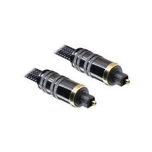 Optisches Kabel Toslink Standard Stecker/Stecker, 1 m