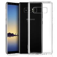 Samsung Galaxy Note 8 Hülle Handy Case Silikon Cover Tasche Dünn Transparent